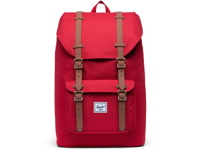 Herschel Little America Mid-Volume Rugzak 17L, red/saddle brown